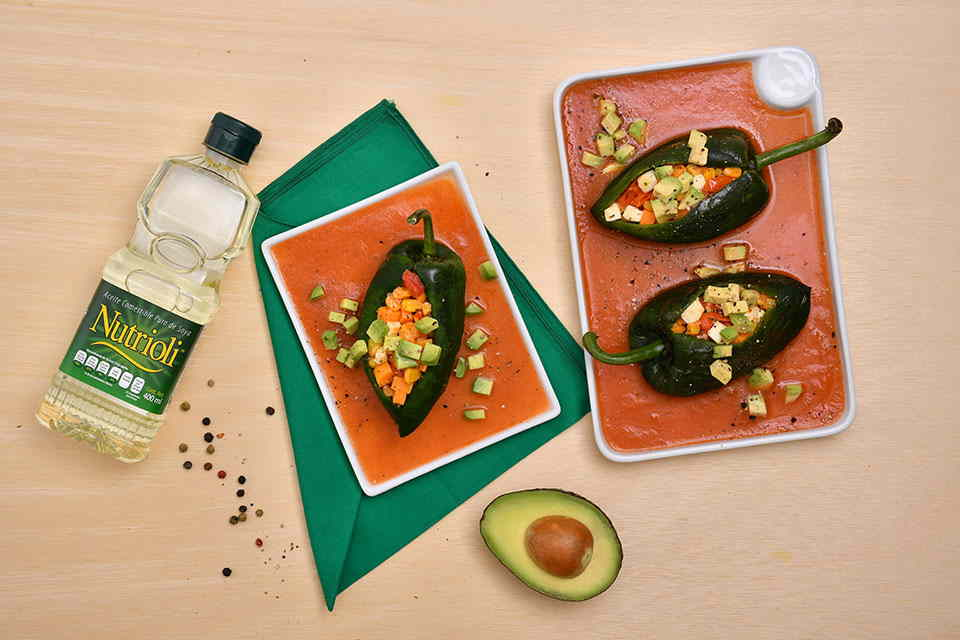Chiles Rellenos Saludables